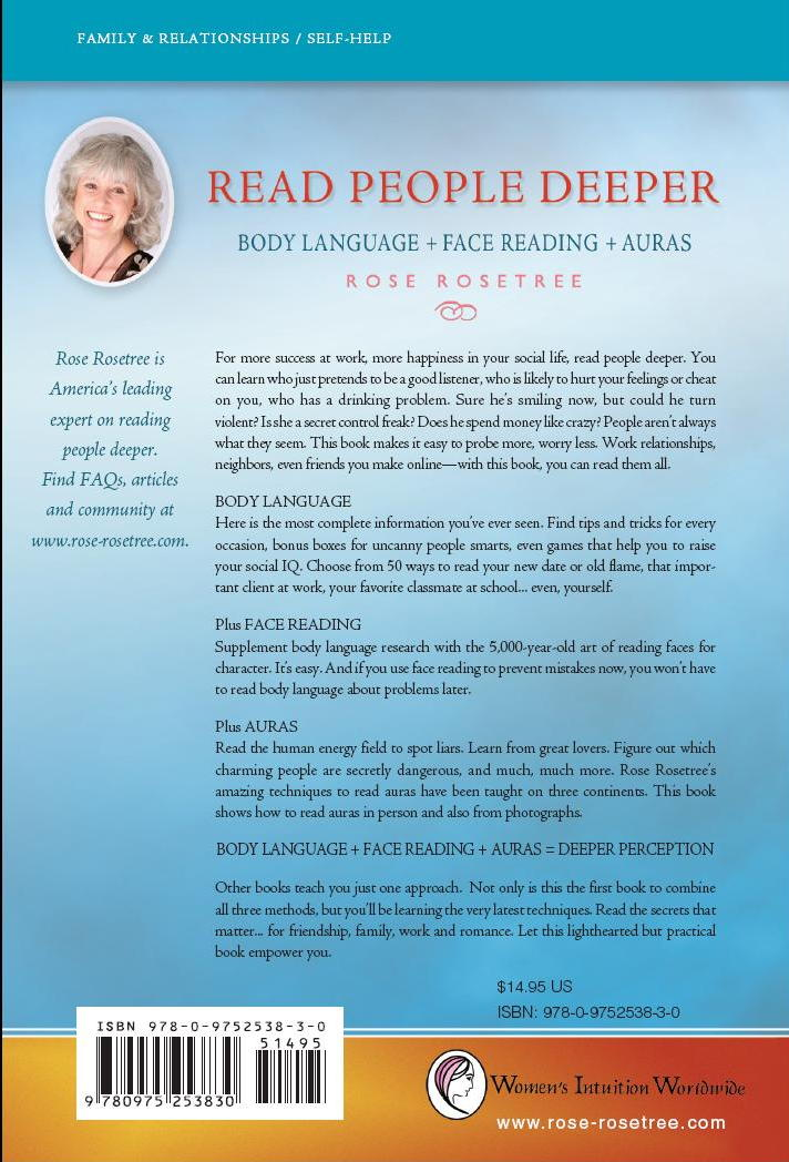 Click to enlarge back cover of Read People Deeper