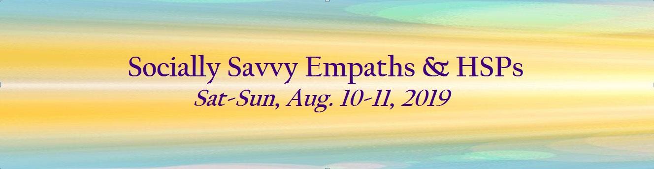 Register: Socially Savvy Empaths & HSPs – Rose Rosetree