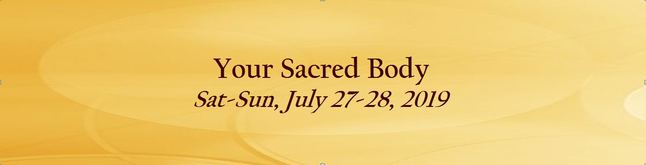 Your Sacred Body